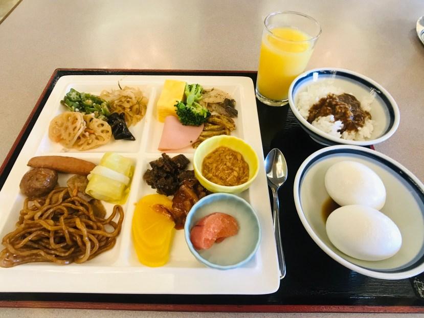 Toya Kanko Hotel Breakfast