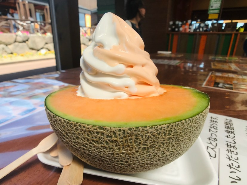 Tomita Melon House - Ice Cream