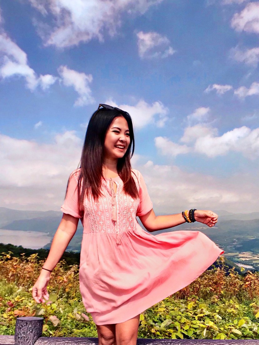On Top of Mt Usu