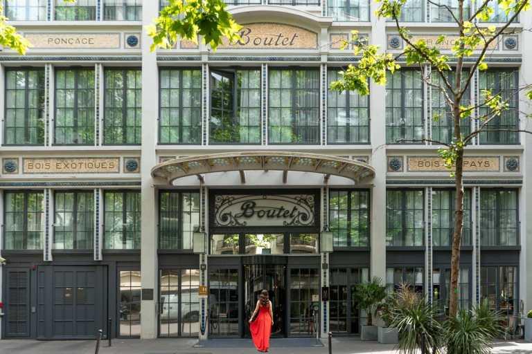 Entrance of Hotel Paris Bastille Boutet