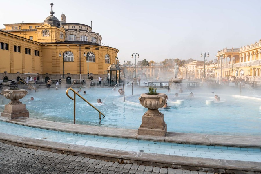The Széchenyi Thermal Baths in Budapest
