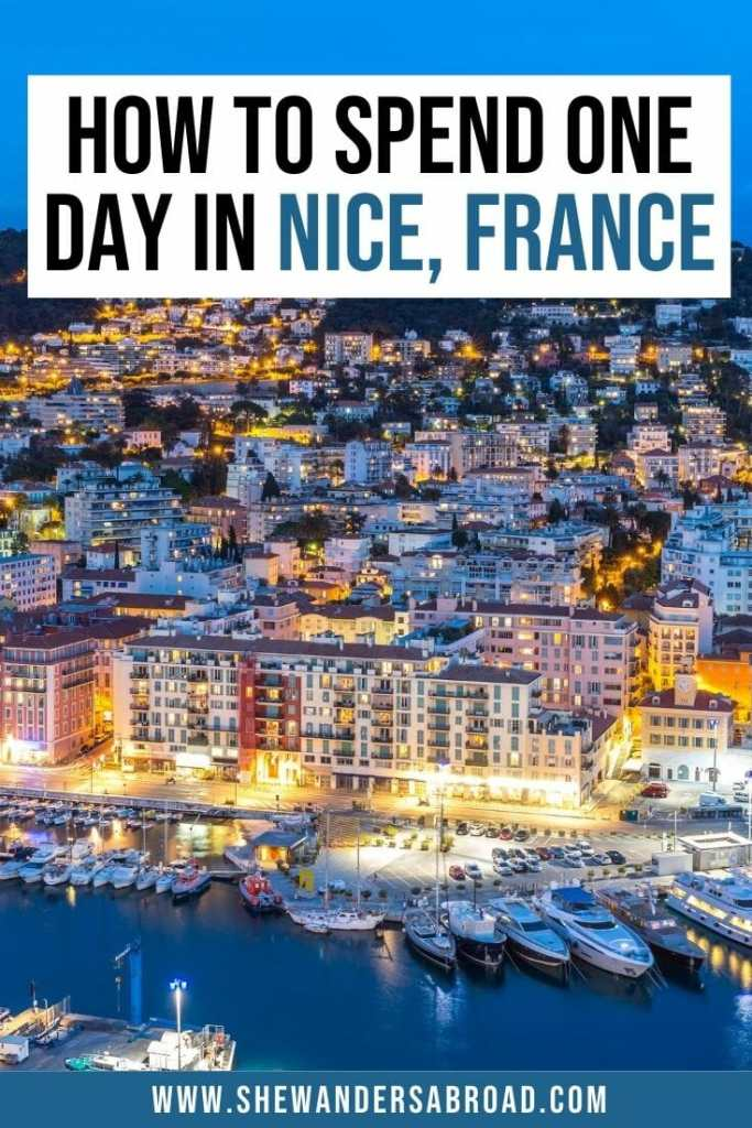 One Day in Nice Itinerary You'll Want to Steal