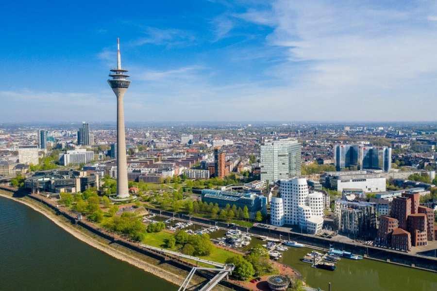 Düsseldorf skyline, Germany