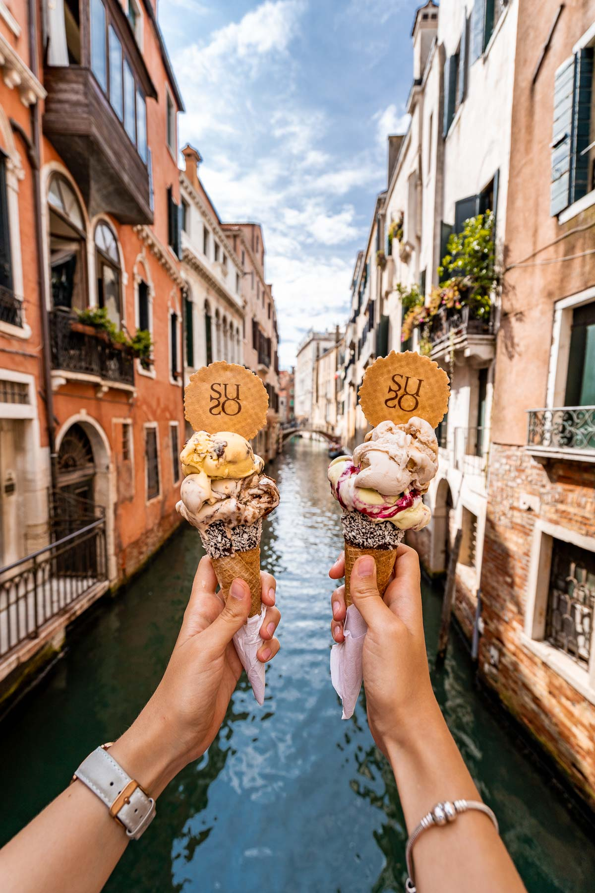 Gelato from Gelatoteca Suso in Venice