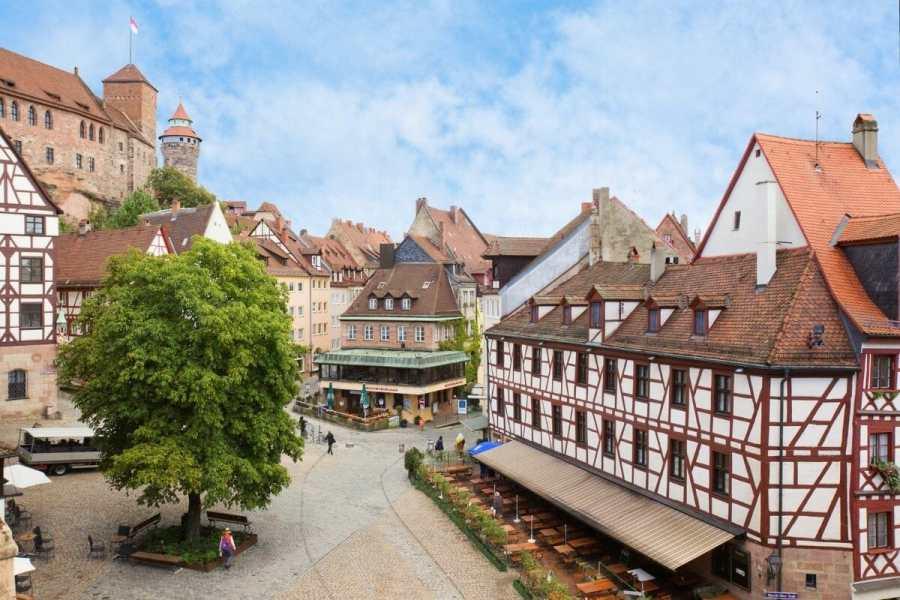 Kaiserburg Castle and Nuremberg Old Town, Germany