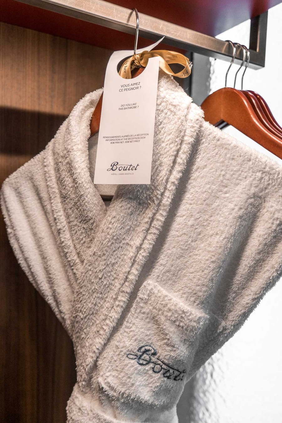 Bathroom in Hotel Paris Bastille Boutet