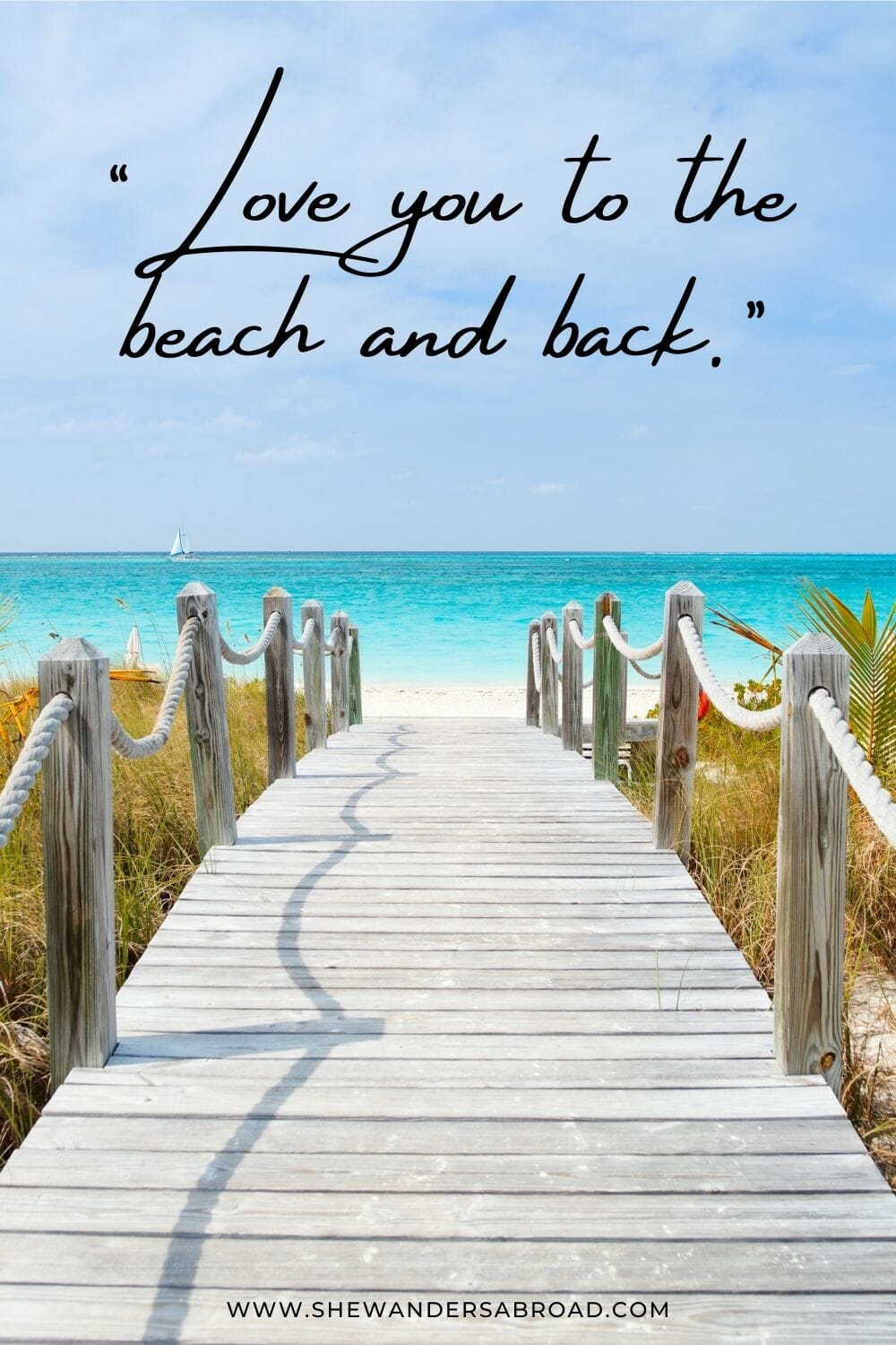 Romantic beach love quotes