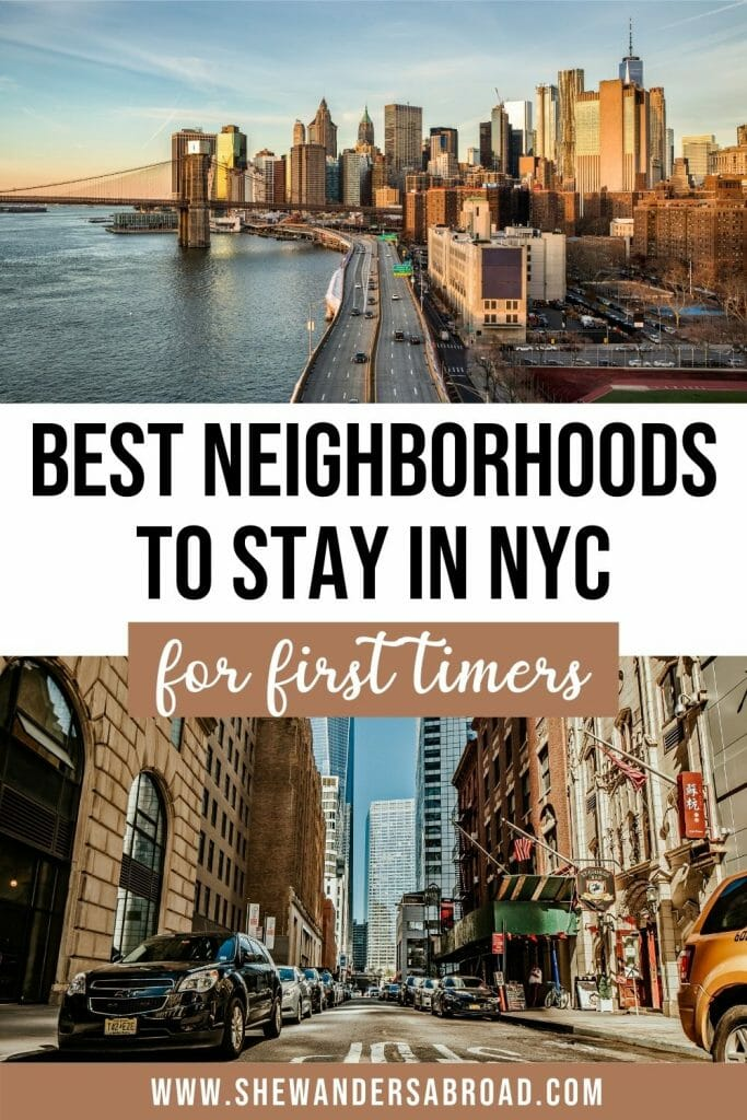 Best areas to stay in New York City