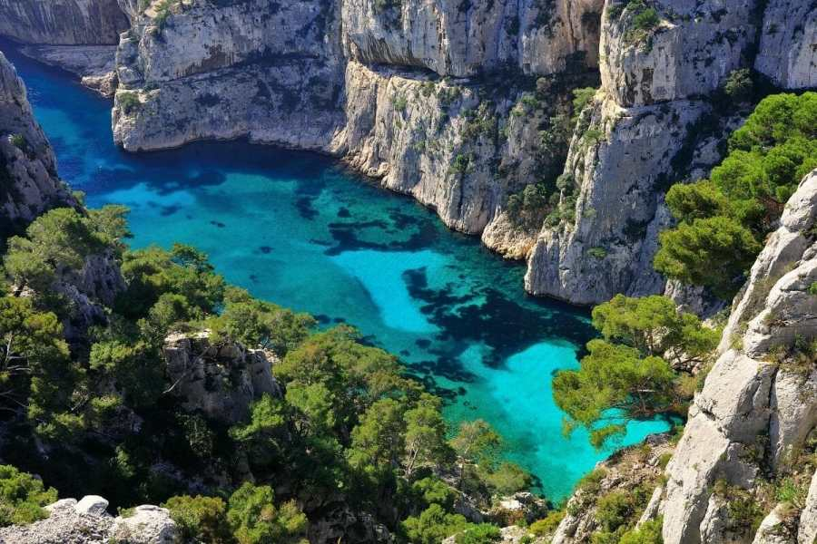 Calanques of Cassis, South of France