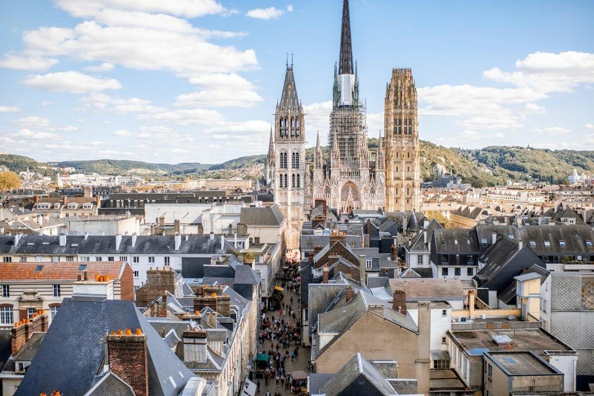 Church in Rouen, France