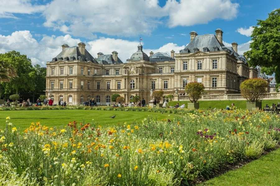 Jardin du Luxembourg in Paris, France