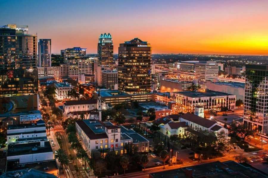 Orlando skyline in Florida, USA
