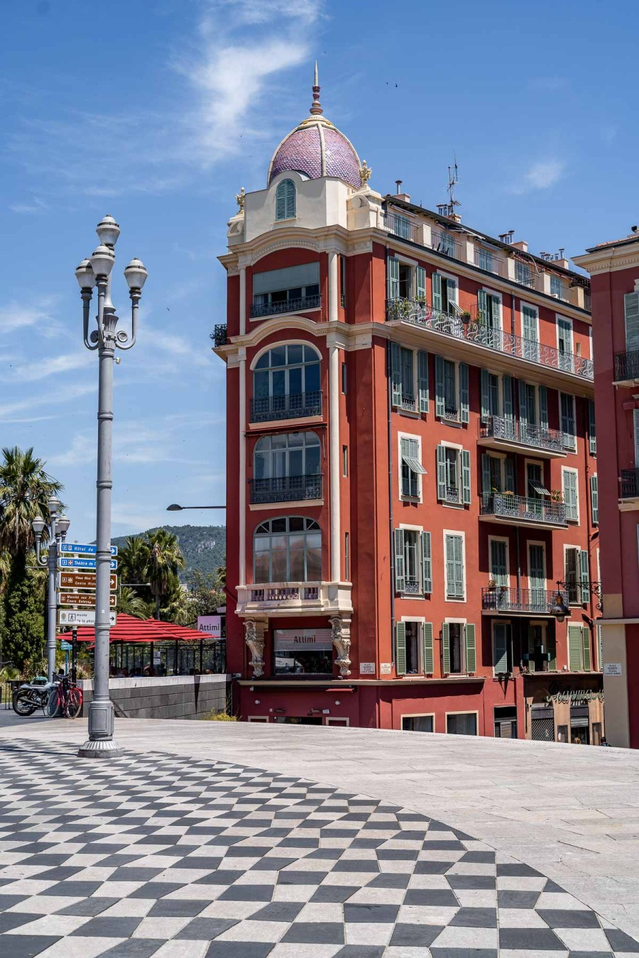 Place Massena is a must visit when spending one day in Nice, France