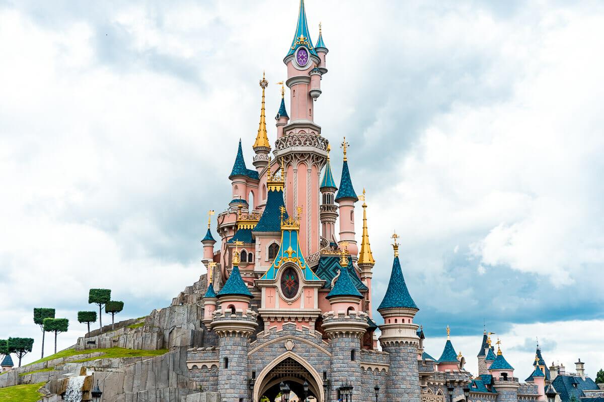 Sleeping Beauty Castle in Disneyland Paris