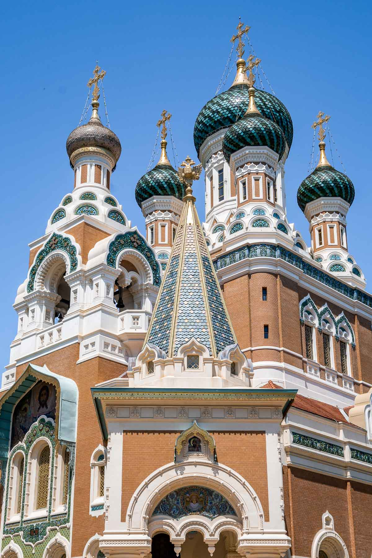 St. Nicholas Russian Orthodox Cathedral in Nice, France
