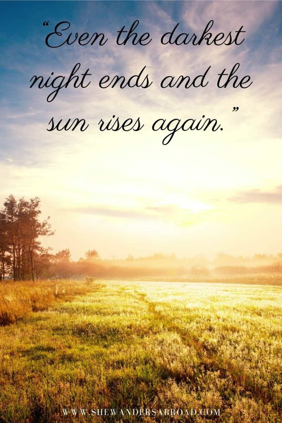 Motivational sunrise quotes