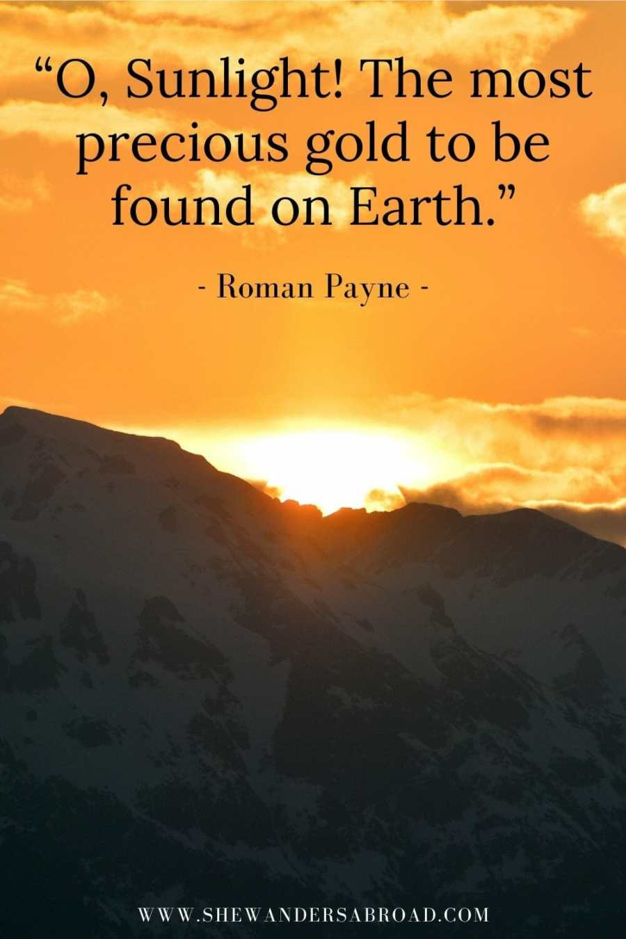 Most beautiful sunrise quotes