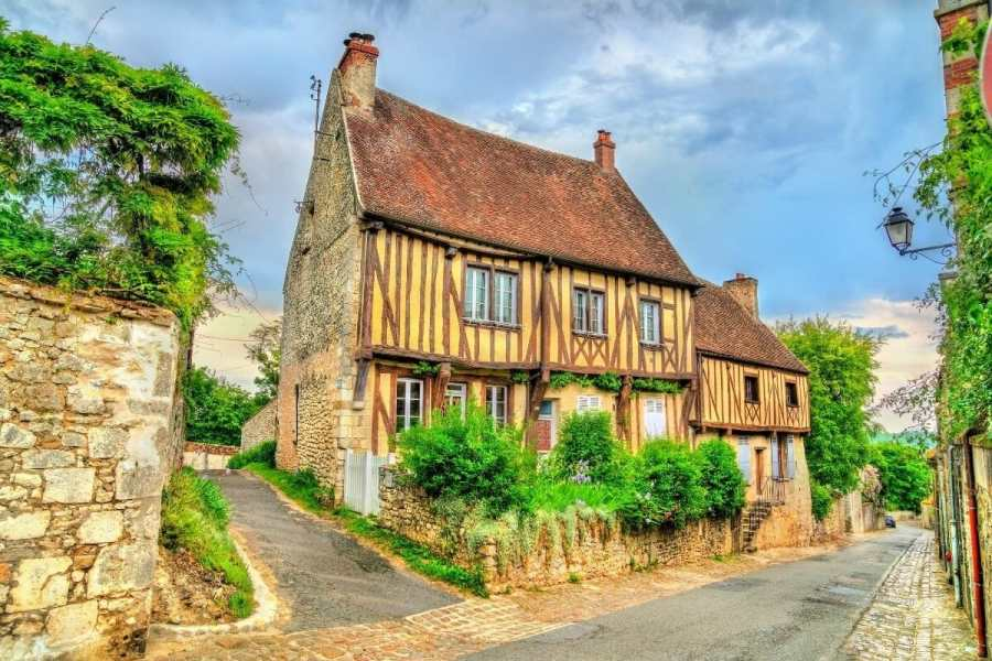 Traditional house in Provins, France