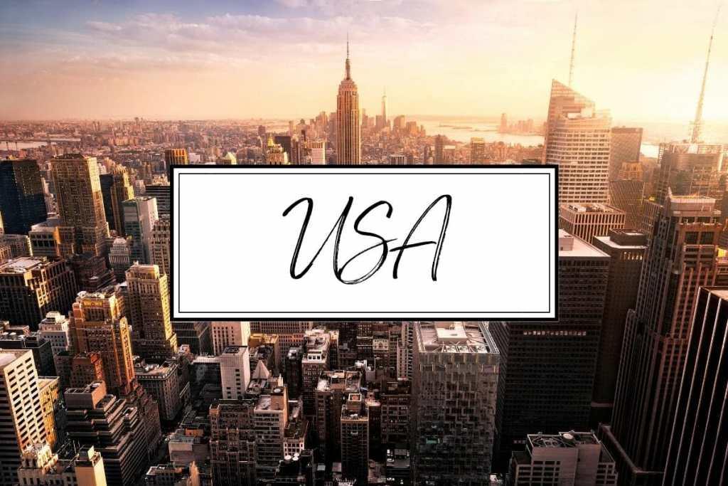 USA, America