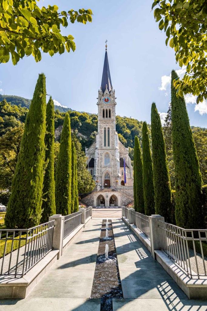 Vaduz Cathedral in Liechtenstein