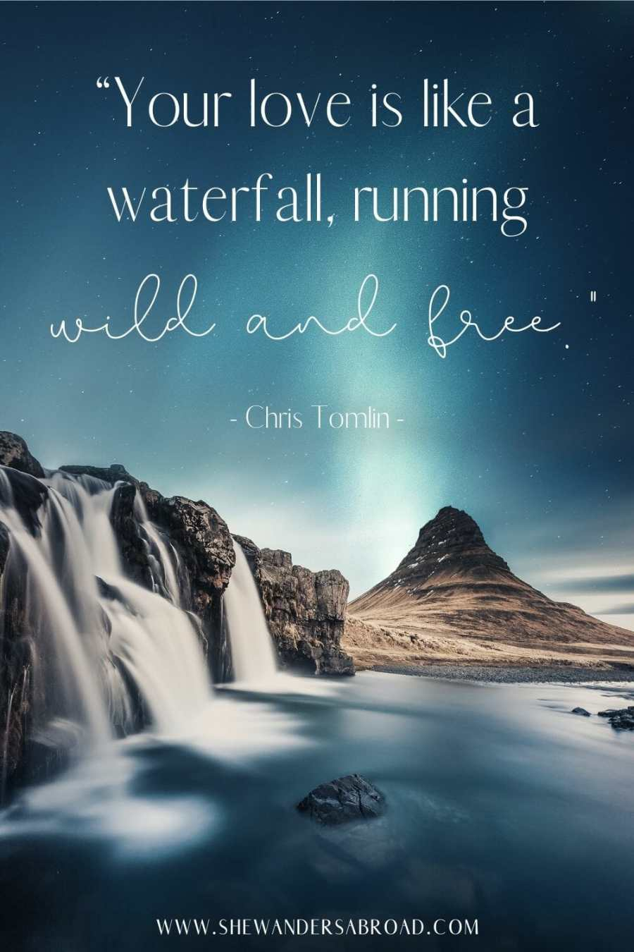 Most romantic waterfall love quotes