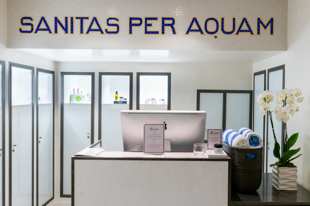 Wellness center in Hotel Paris Bastille Boutet