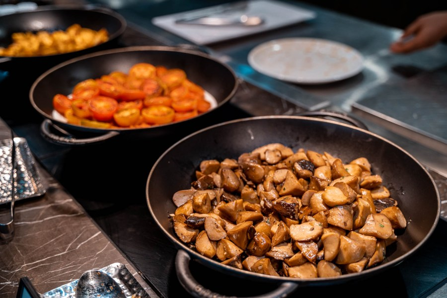 Breakfast at the Lotte Hotel Yangon