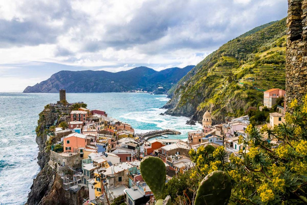 Colorful houses in Vernazza, Cinque Terre, Italy