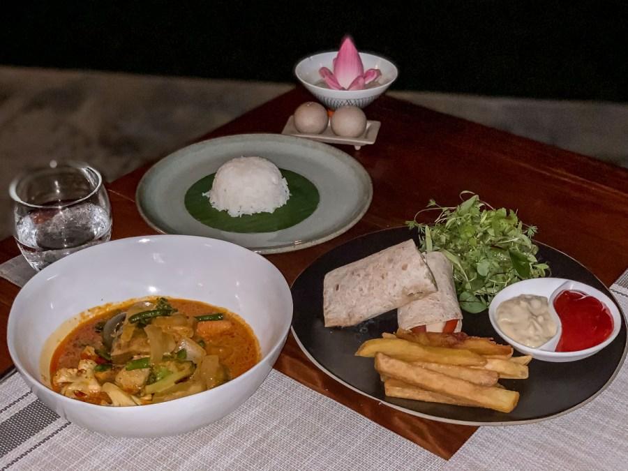 Dinner at Templation Siem Reap