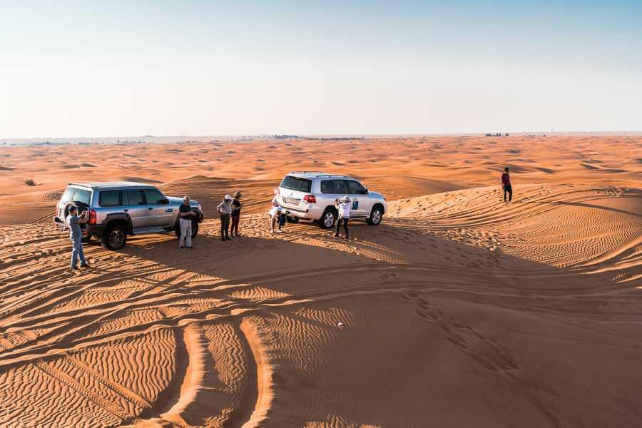 Jeep tour in the Dubai Desert