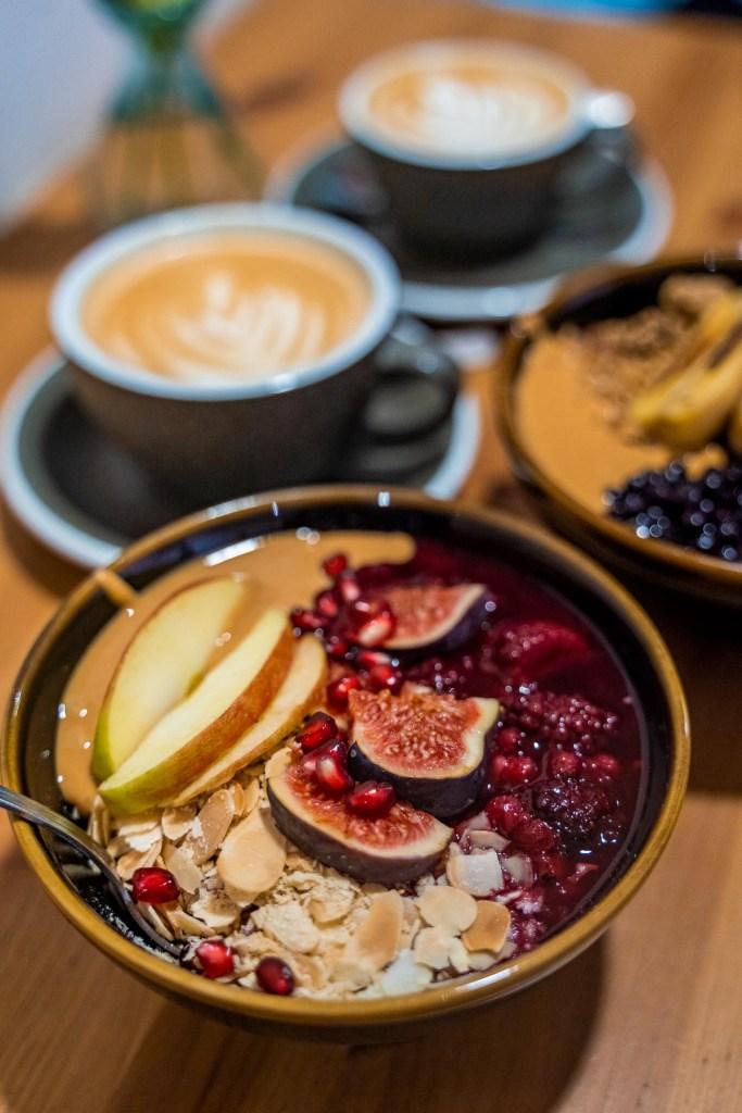 Porridge bowl for breakfast at Fagel by Artizan in Budapest