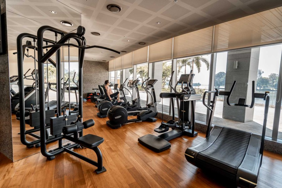 Gym at Lotte Hotel Yangon
