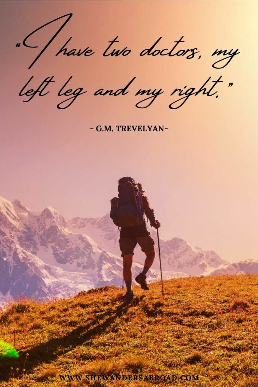Funny hiking quotes for Instagram