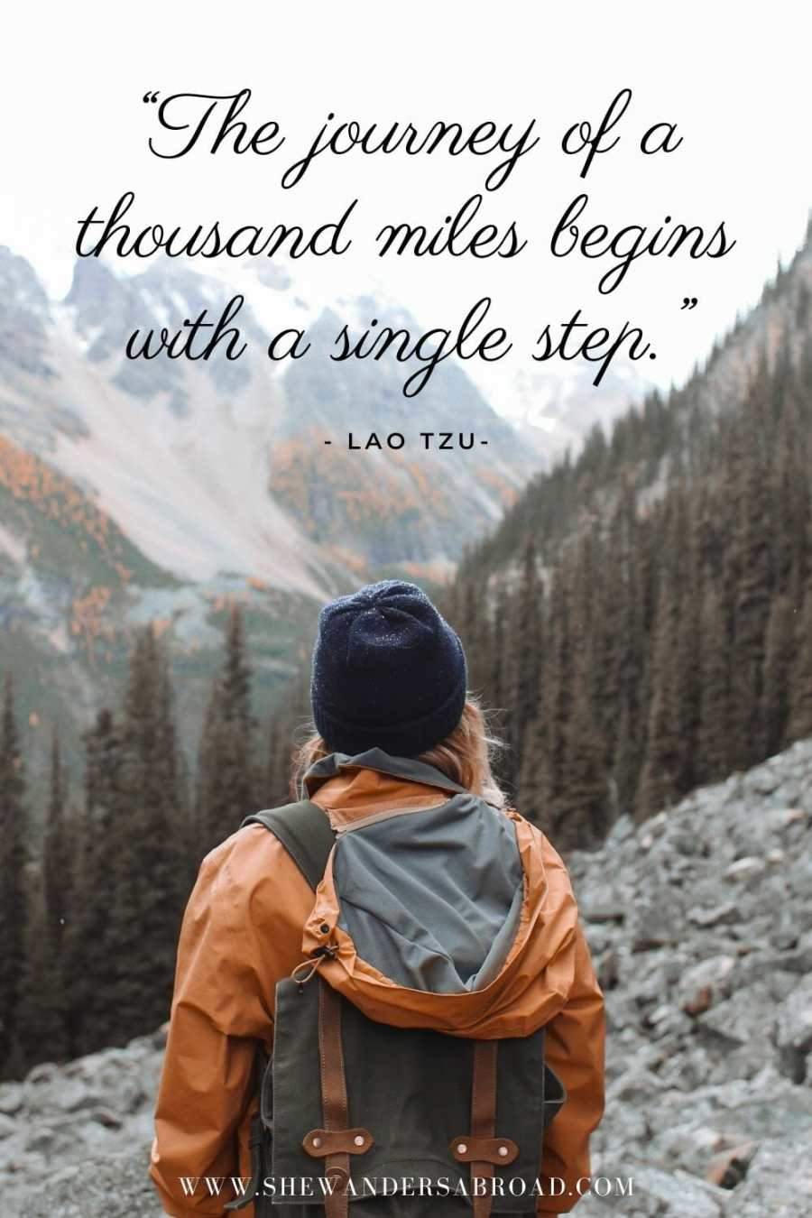 Best hiking quotes