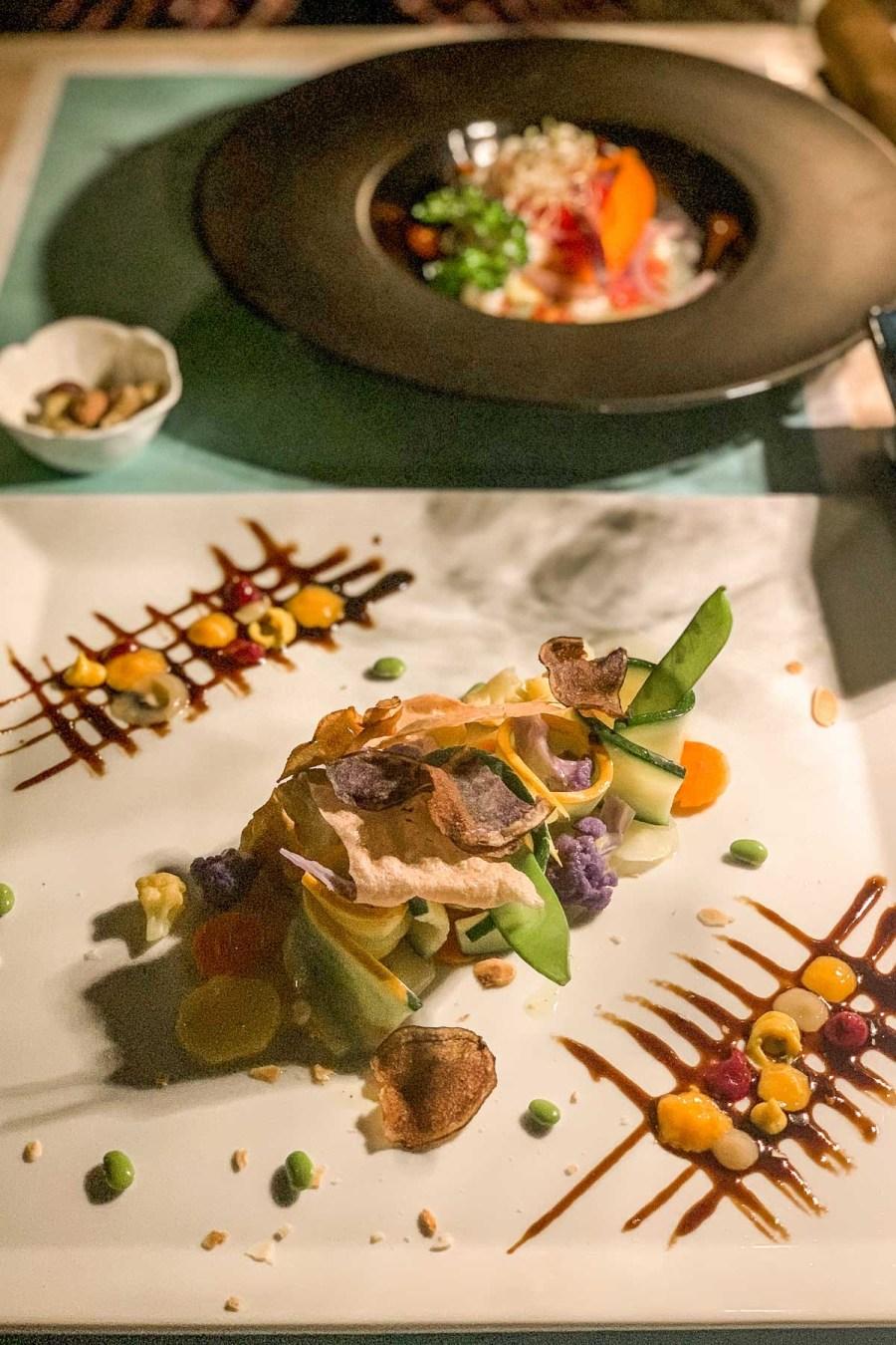 Dinner at La Darsena at Lake Garda