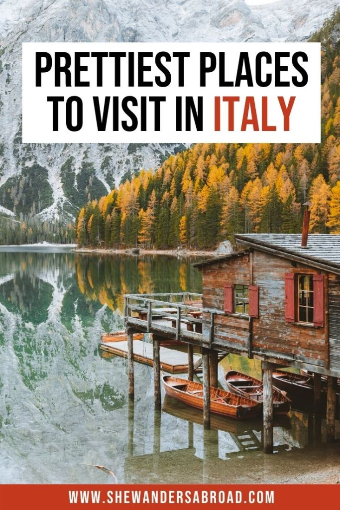 Top 40 Most Beautiful Places in Italy You Can't Miss
