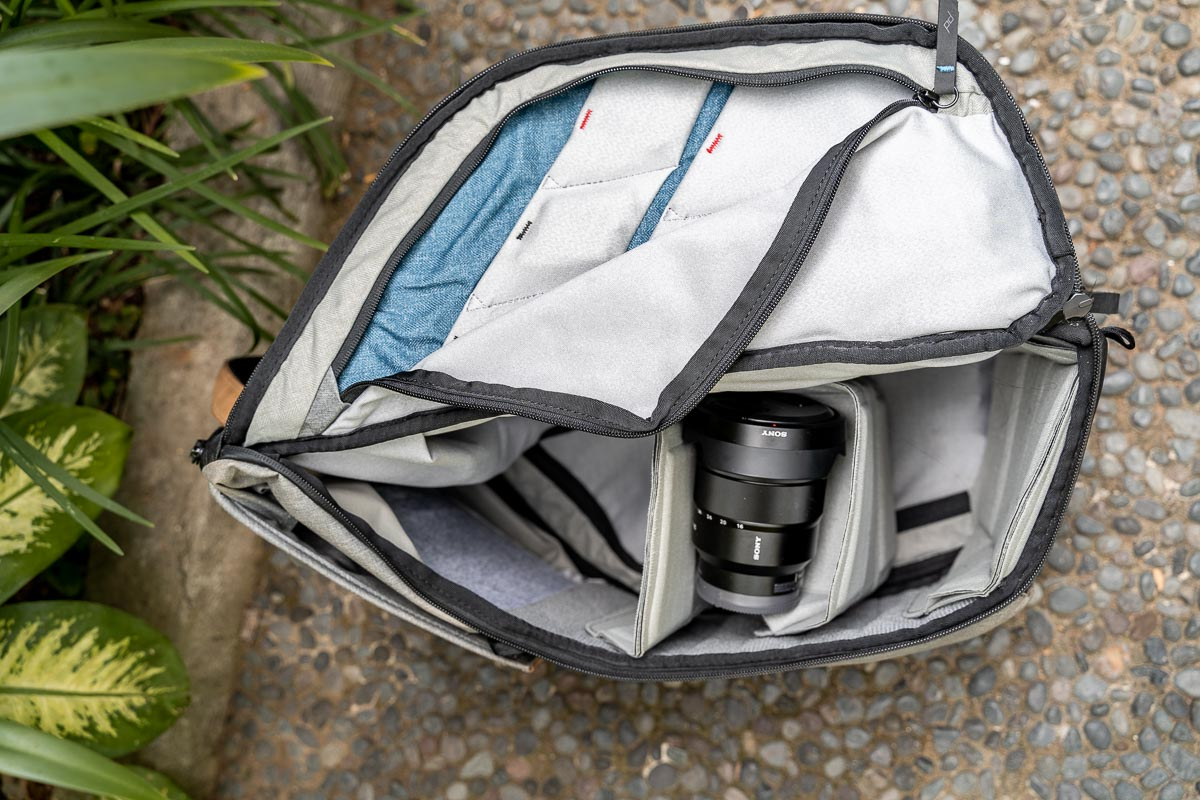 Peak Design Everyday Backpack 30L inner storage