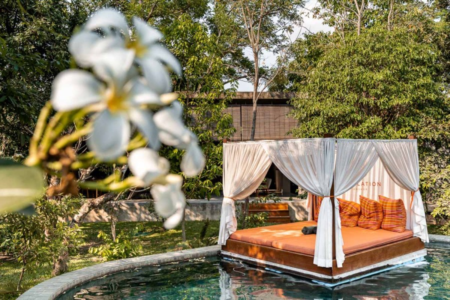Pool area at Templation Siem Reap