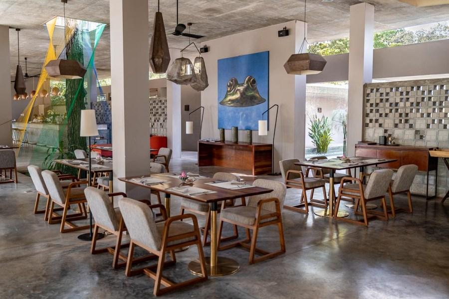 The restaurant at Templation Siem Reap