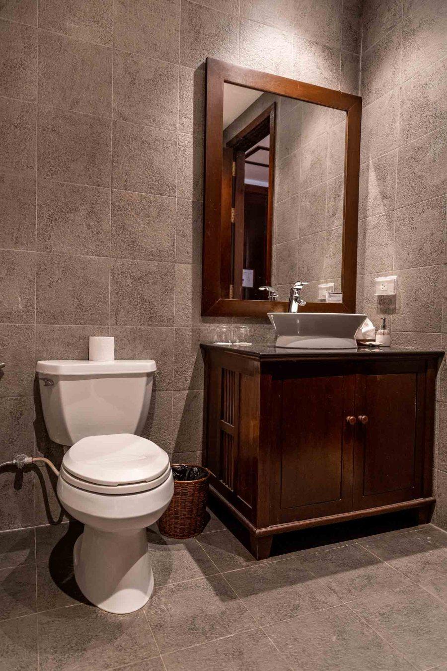 Bathroom at Riverside Boutique Resort Vang Vieng