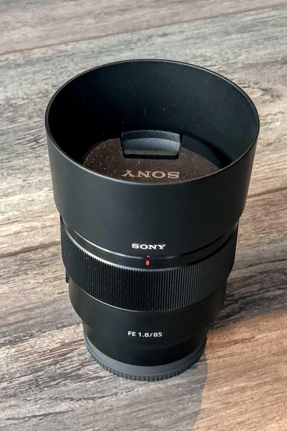 Sony 85mm f1.8 portrait lens