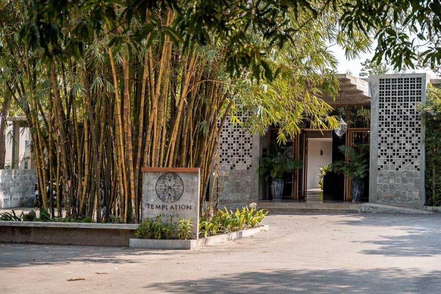 Entrance at Templation Siem Reap