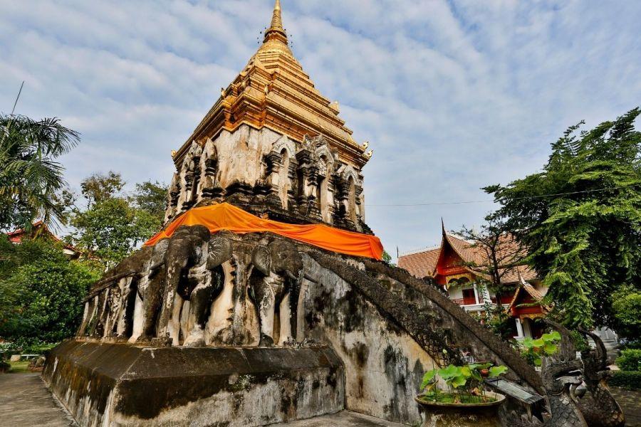 Wat Chiang Man Temple in Chiang Mai