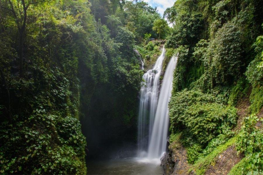 Aling Aling Waterfall in Bali