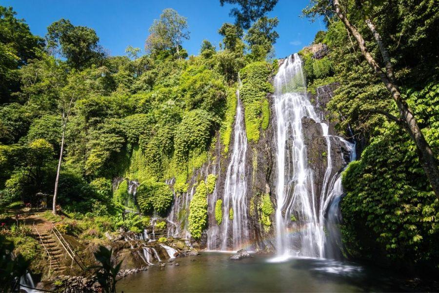 Banyumala Twin Waterfalls in Bali