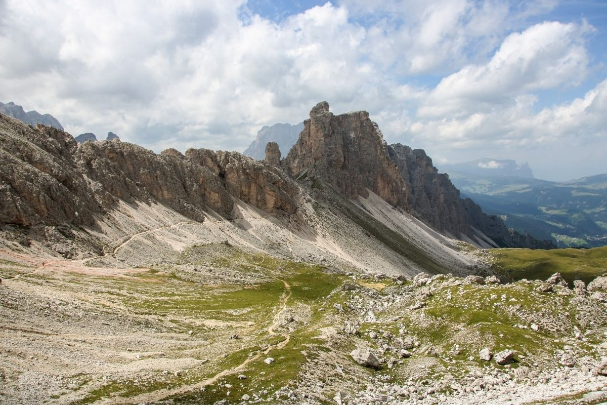 Puez Odle Nature Park in the Dolomites