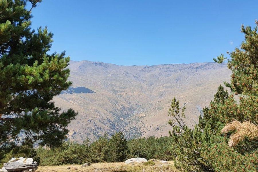 Mountain range in Sierra Nevada, Spain