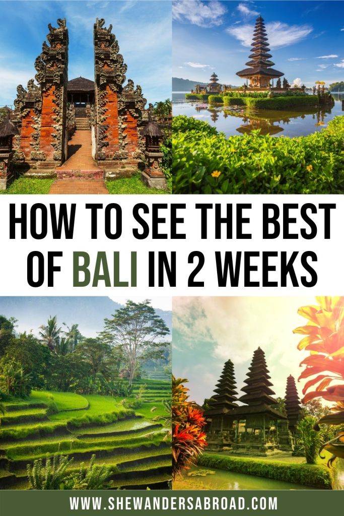 The Ultimate 2 Weeks in Bali Itinerary