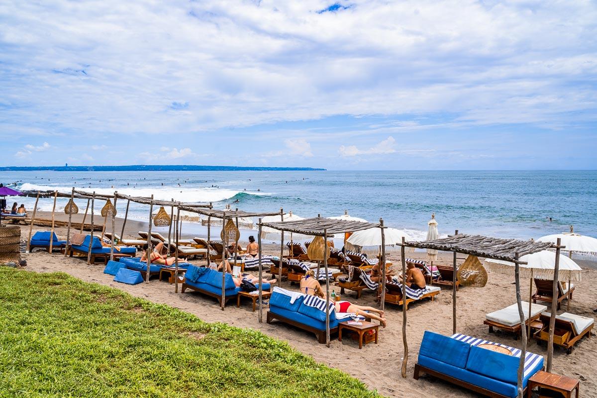 Beach in Canggu, Bali