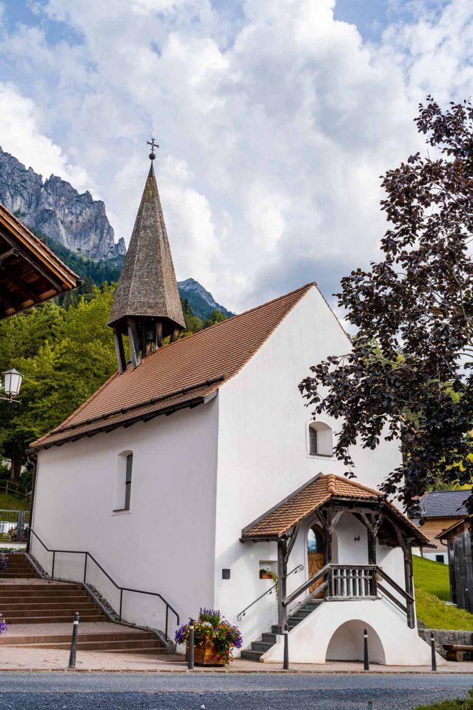 Church in Planken, Liechtenstein